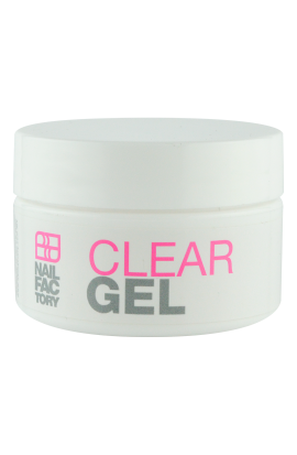 CLEAR GEL NAIL FACTORY 0.5 OZ