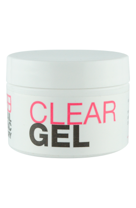GEL CLEAR NAIL FACTORY 001 OZ.